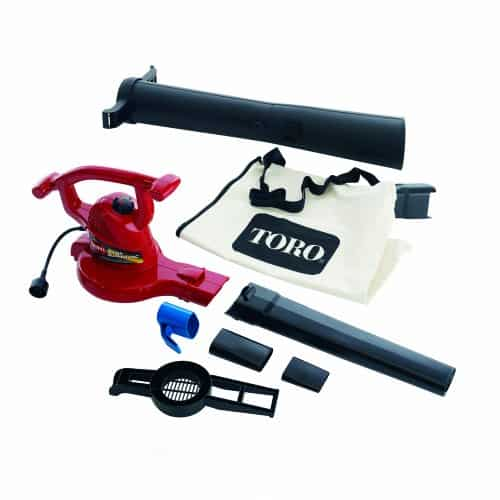 Toro 51609 Ultra 12 Amp Variable-Speed up to 235 Electric Blower/Vacuum with Metal Impeller
